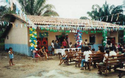 Salon el Rosal met gezonde vruchtensappen, LA-CO-2/E, Colombia