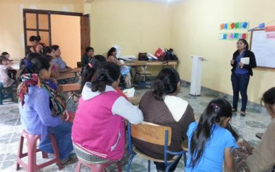Opleiding van Maya vrouwen (Guatemala)