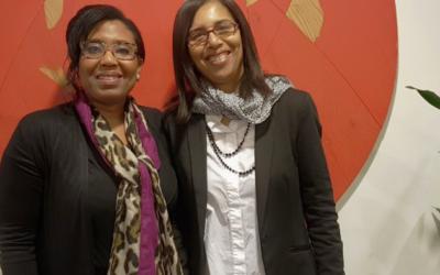 Bezoek van Nenita La Rose (NederlandseVrouwenraad)