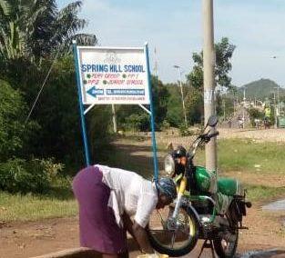 Kenia (29) – Autowasserij wegens succes geprolongeerd – gesponsord door KVG Houten