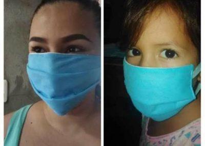 Ecuador (12) – Duurzame tasjes en mondkapjes – geadopteerd door mw. Brokking