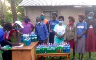 Stichting Cees Kant steunt zeepfabriek in Kenia