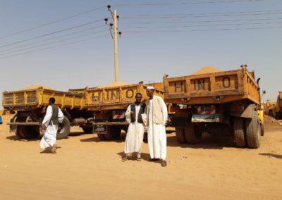 Soedan (5) – Betonblokkenproductie – gereserveerd voor sponsoring door Mavotrans B.V.