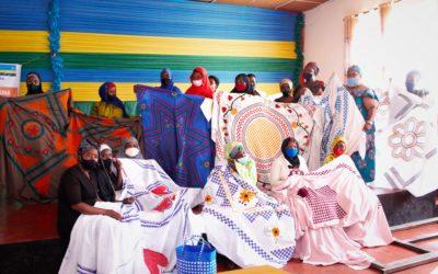 Ambachtsactiviteiten in Rwanda