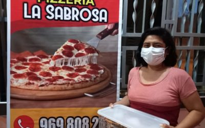 Pizza's bezorgen in Peru