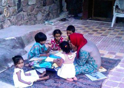 Egypte (3) – Leshulp voor bedoeïenenkleuters Zuid Sinaï – gereserveerd voor collecte