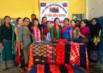Nepal (2) – Dhaka kledingproductie en accessoires – sponsoren gezocht voor 2.865 euro