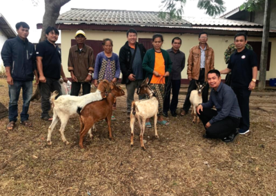 Laos (1) – Geiten voor vrouwen met een handicap – sponsoren gezocht voor 3.260 euro